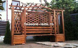 Modele de pergole de lemn 05