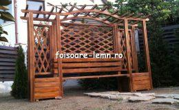 Modele de pergole de lemn 06