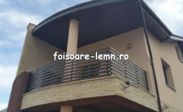 Poze balustrade din lemn 03