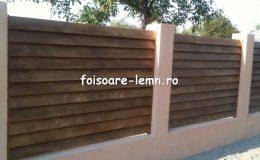 Preturi garduri din lemn moderne 02
