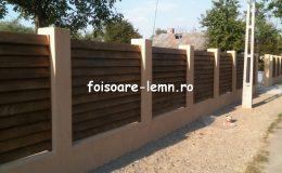 Preturi garduri din lemn moderne 03