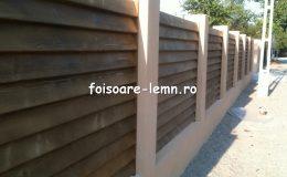 Preturi garduri din lemn moderne 05