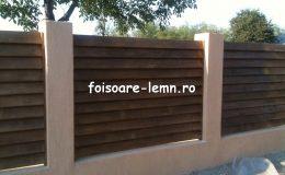 Preturi garduri din lemn moderne 08