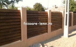 Preturi garduri din lemn moderne 09