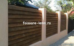 Preturi garduri din lemn moderne 11