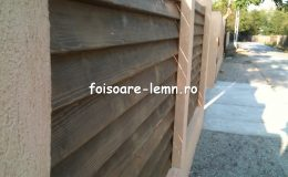 Preturi garduri din lemn moderne 14